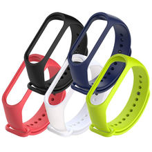 Hot Seller Wristband Silicone Smart Watch Bands Strap MI Band 4 3 Bracelet Watch Strap For Xiaomi