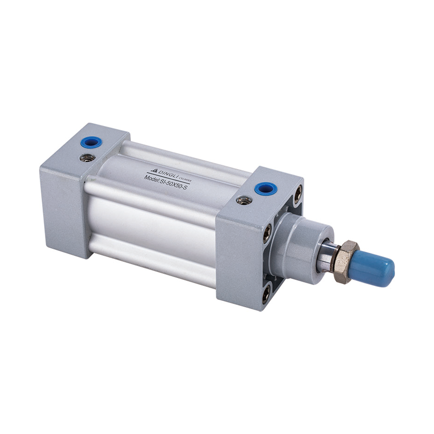 Factory made pneumatic cylinderStandard Double action Piston Cylinder Structure Pneumatic
