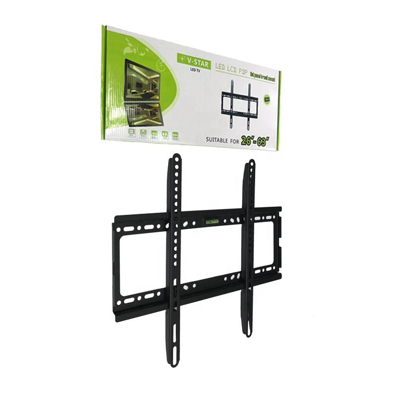 Manufacturer supply universal Led LCD stand TV wall mount bracket fit for 26-63 inch RTS