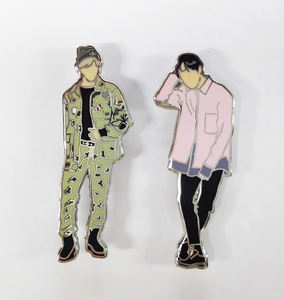2019 Metal Bulk Kpop Custom Hard Enamel Lapel Pin Manufacture