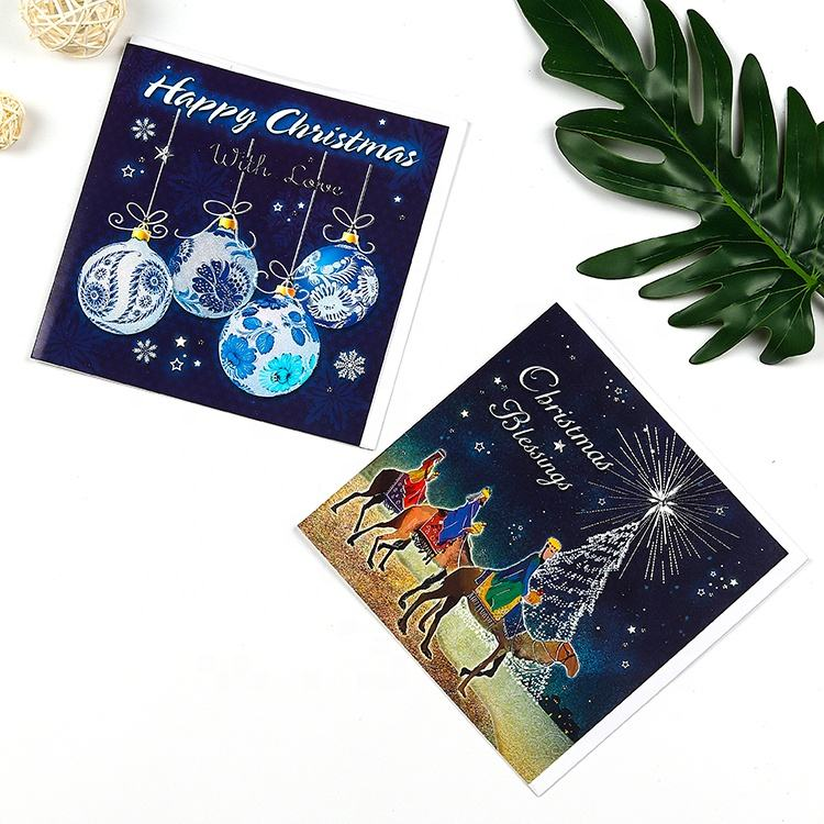 Christmas Paper Card Paper Greeting Cards Top Quality Modern Paper Greeting Card Handmade Christmas Card