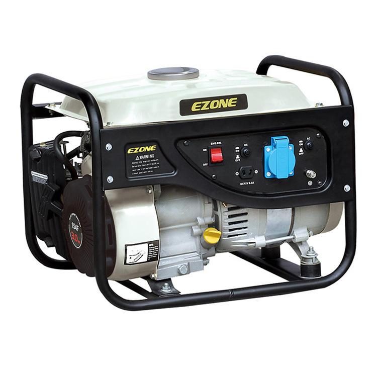 China Supplier Cheap Price EZ-1500 Spare Parts 900W Small Portable Petrol Engine Lutian Power Gasoline Generators For Honda