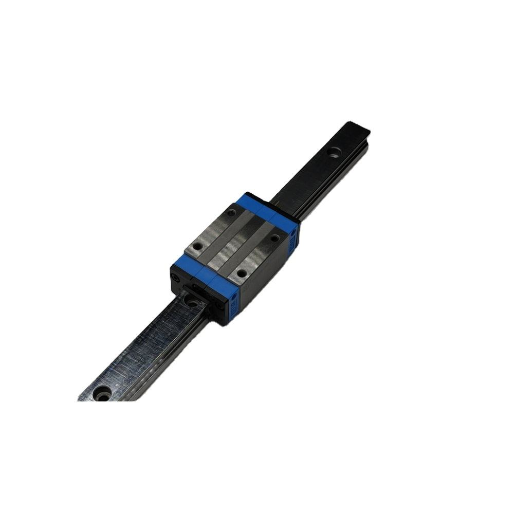 Low friction cylinder linear guideway rail for nsk
