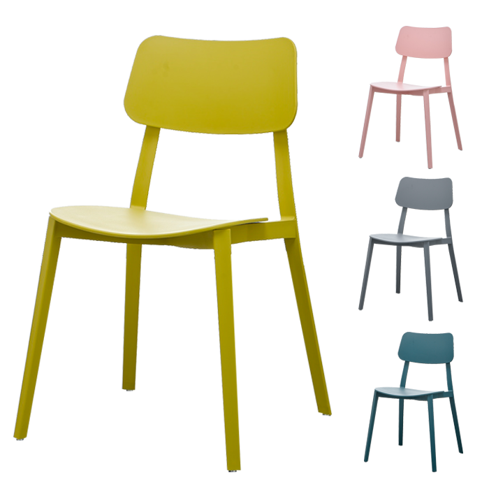 China Factory Modern Plastic Chair Plastic Dining Chair colorful pp plastic chairs price