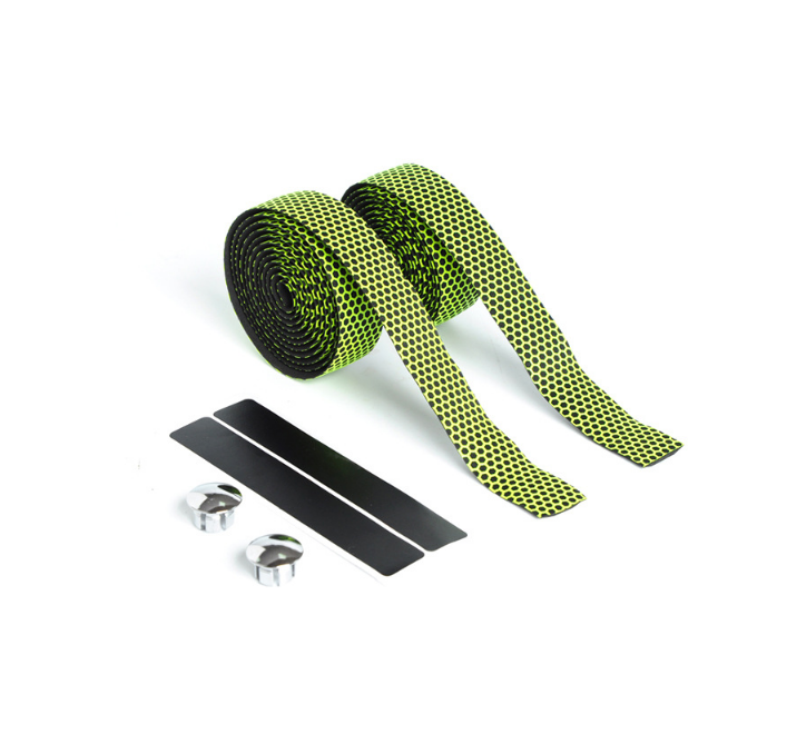 OEM Bicicle Cycling Handle Protector Belt Mountain Bike Bicycle Sports Cork Handlebar Tape + 2 Bar Plug