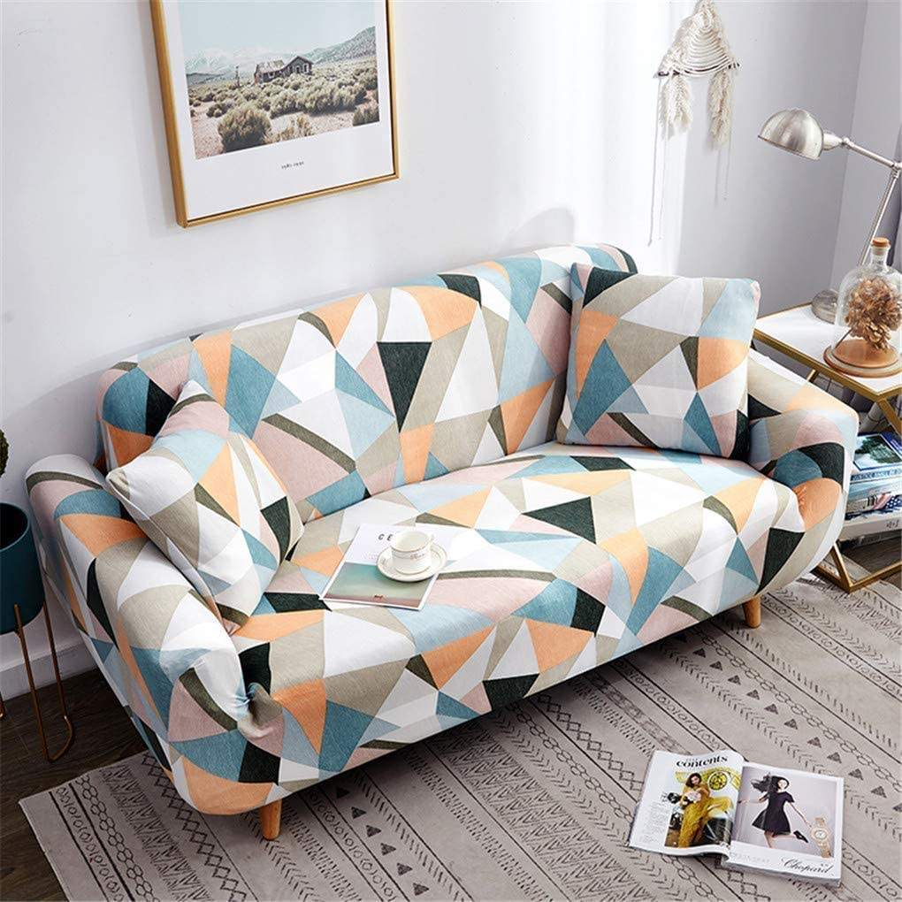 5 7 seater turkey full Fitted sofa covers printed waterproof l shape sofas chair cover elastic stretch slipcover funda de 3pcs