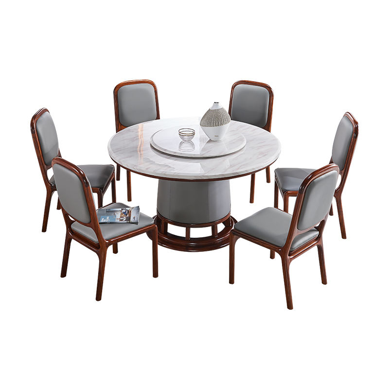 dining tables and chairs sets eetkamerstoelen leer chaise salle a manger muebles modernes leather wooden marble dining table