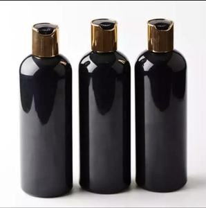 Empty hair conditioner shampoo packaging 150ml 250ml 300ml plastic cosmetic bottle with 24/410 disc top cap