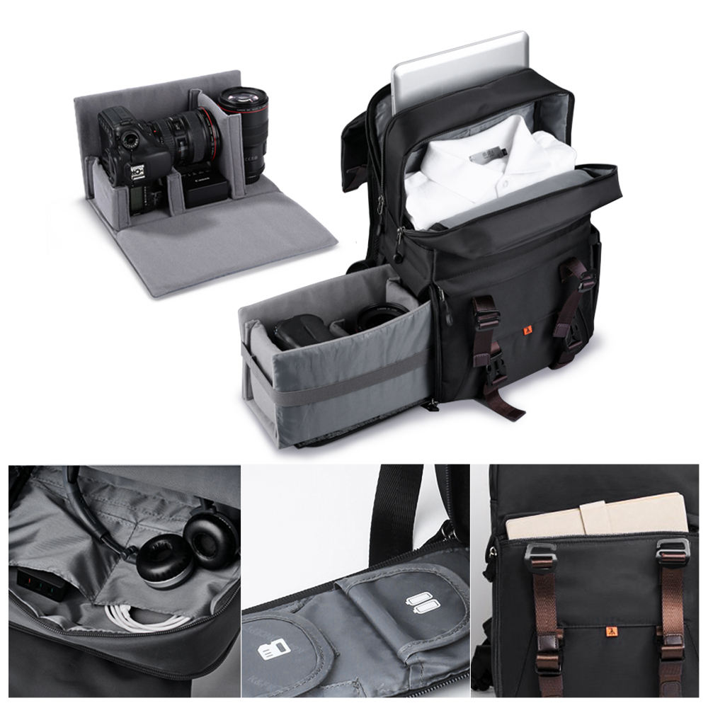 New KF13.092 DSLR Camera Backpack,for travel