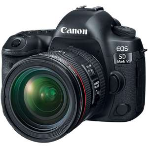 Canon EOS 5D Mark IV Kit EF 24-70 Mm F4L IS USM Ống Kính
