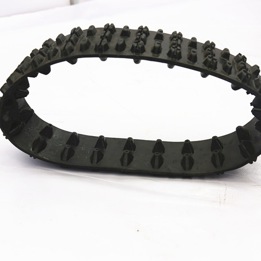 120mm width small robot rubber track atv rubber track RN-120