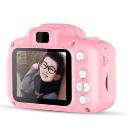 Kids Cartoon Cute Camera Digital Camera for Child Birthday Gift