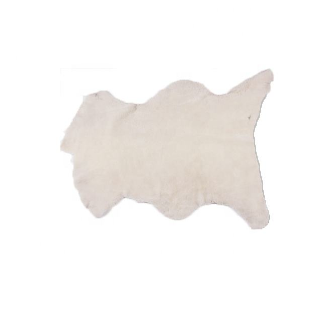 Soft Hand Feeling Australia White Sheepskin/Lambskin Blankets Wholesale Manufacturer