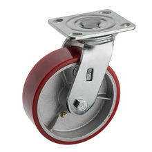 China manufacturer 3 ton heavy duty pu caster wheel