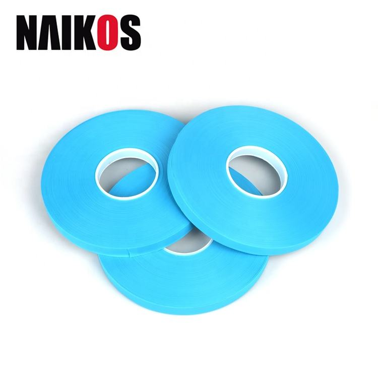 Self Adhesive Tape 3 Layer Hot Melt High Adhesion Blue Seam Sealing Tape For Protection Suits