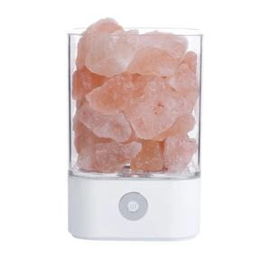 Hot Sale Creative Coloful Lights Table USB LED Souvenirs Decorative Lamp Crystal Himalaya Salt Lamps