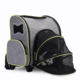 Outdoors Gray Expandable Pet Carrier Pet Cages Carriers Houses Pet Carrier On Wheel