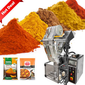 Hot Sealing Full Automatic 100g 200g 500g Turmeric Powder Masala Powder Packing Machine