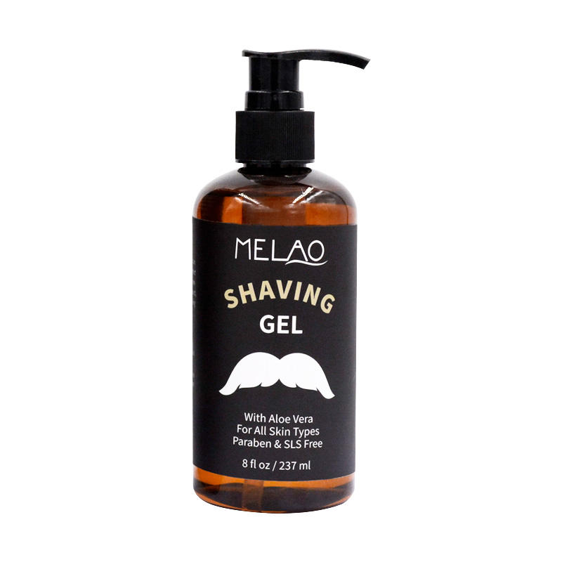 OEM Custom Private Label Natural No Foaming Clear Shave Gel