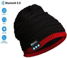 Bluetooth Beanie Cap Music Wireless Headset Stereo Speaker Microphone Headphone for Outdoor Sports