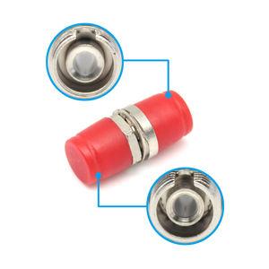 SM Simplex küçük D tipi FC PC/UPC Fiber optik adaptör