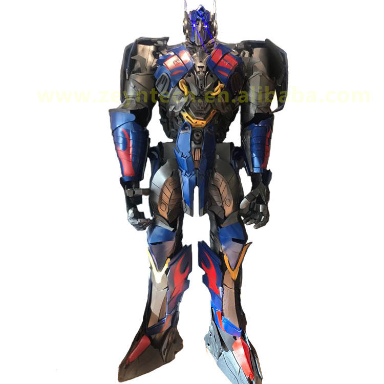 Halloween Christmas Custom Cosplay Life size Robot adult costume optimus transformer prime costume for adults