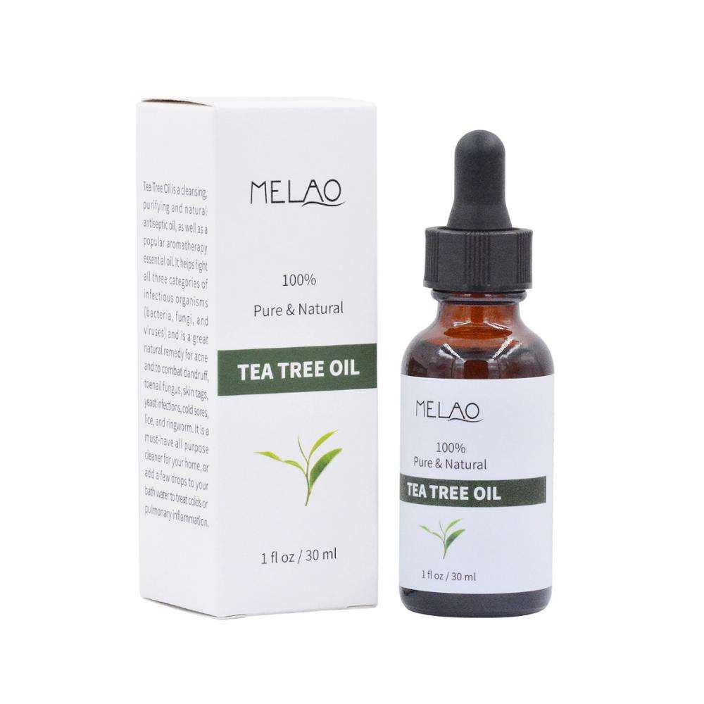 100% Pure Natural Organic Tea Tree Oil Whitening Serum Face Body cleanser Essence Retinol Serum Anti Acne Skin Care Body Lotion