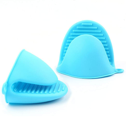 Mini Silicone Oven Mitts  for  Kitchen use as Potholder or Baking Holder Mini Oven mitt