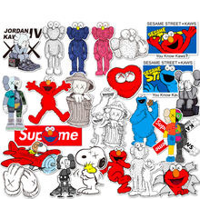 kaw vinyl removable luggage waterproof skateboard decal die cut kawaii stickers