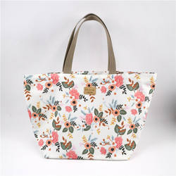 Rural floral student waterproof oxford large bag grocery Mommy shopping bag
