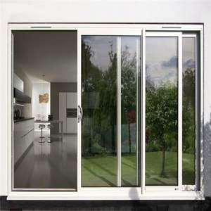 double glazing aluminum interior sliding glass doors