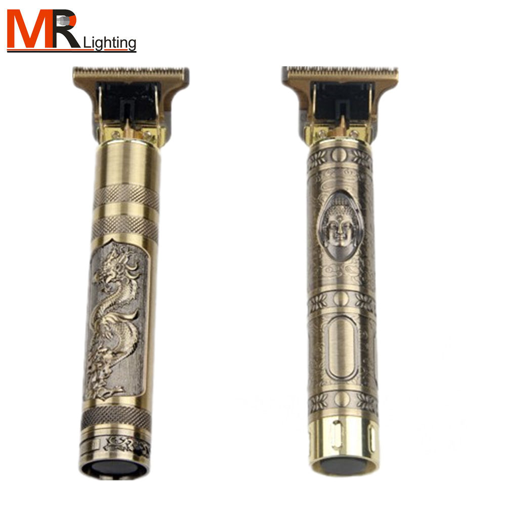 close cutting 0mm t blade baldheaded outliner men zero gapped barbershop Cordless Digital Hair Trimmer