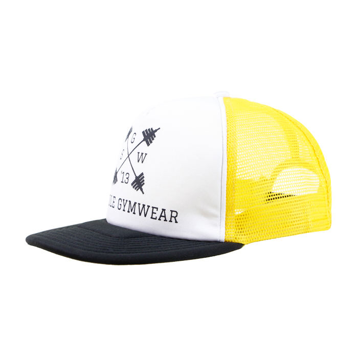 Kids Plain 빈 키 빈 Yellow Polyester <span class=keywords><strong>폼</strong></span> 5 Panels <span class=keywords><strong>트럭</strong></span>은 캡 Mesh 백 Hat