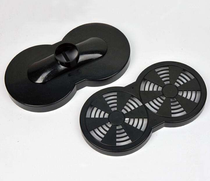 Plastic Multi Cavity Injection Moulding Parts For PBT Gear Housing