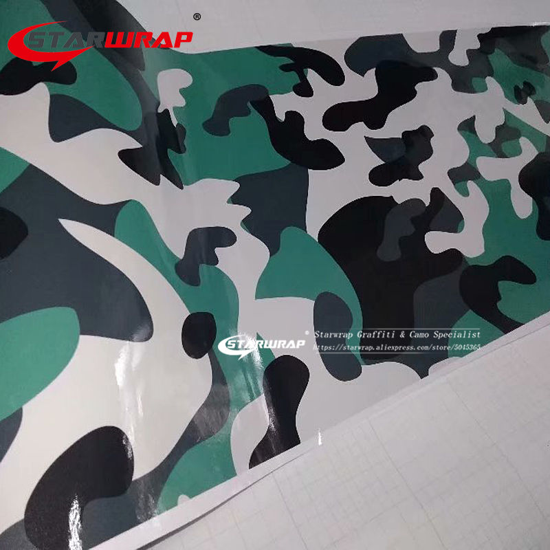 Matte Camouflage <span class=keywords><strong>Vinyl</strong></span> <span class=keywords><strong>Wrap</strong></span> Camouflage Film Wrapping Fahrzeug Auto Abdeckungen Wraps
