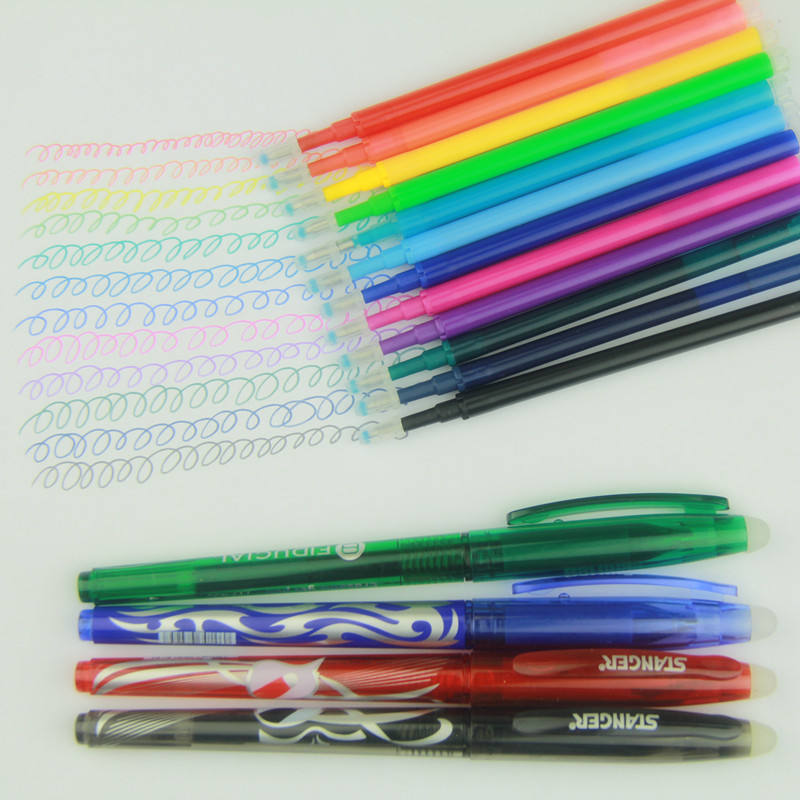 high quality japan rubber eraser erasable friction uni ball pen