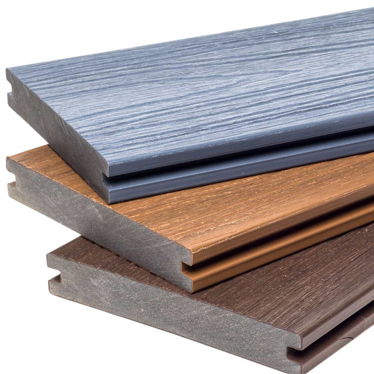 Co-extrudierten WPC Composite Decking Boards Für Outdoor Bodenbelag