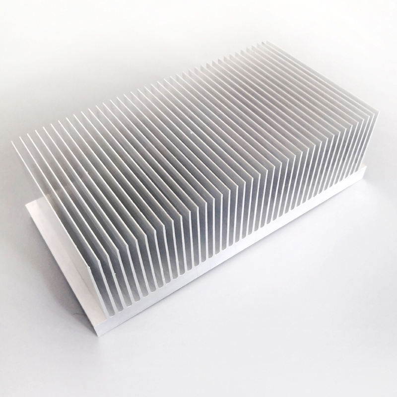 Factory supply best price aluminum heatsink 200(W)*60(H)*100(L)mm
