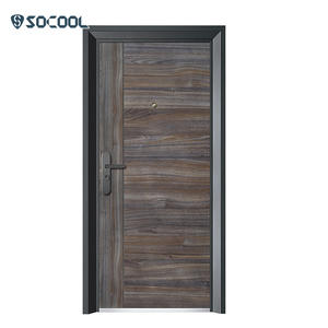 Chinese manufacture modern steel inside metal doors exterior