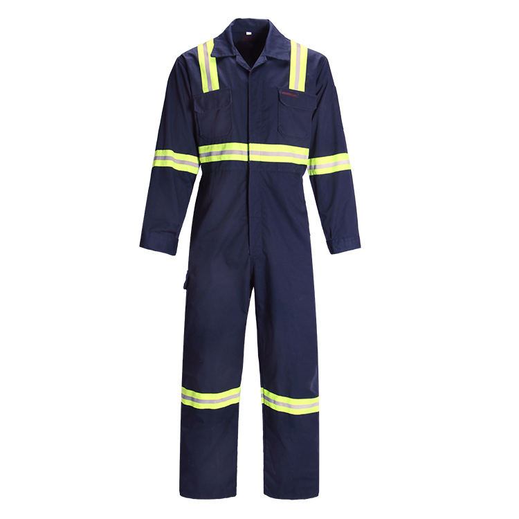 High visibility Safety working uniform road safe Protective Coverall