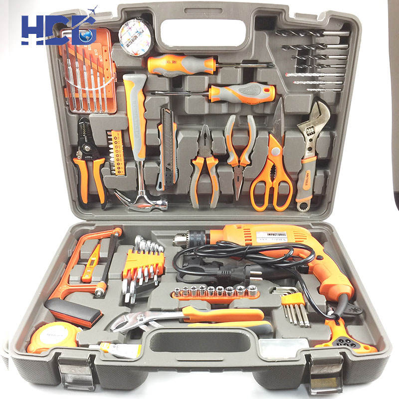 Household Use Electric Drilling Machine Hand Tools Sets