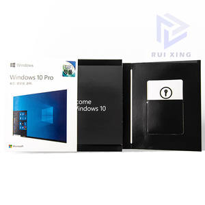 Amazon Hot Koop Engels/Russisch/Japans/Koreaanse Microsoft Windows 10 Pro Retailbox 100% Online Activering Win 10 pro Key Code
