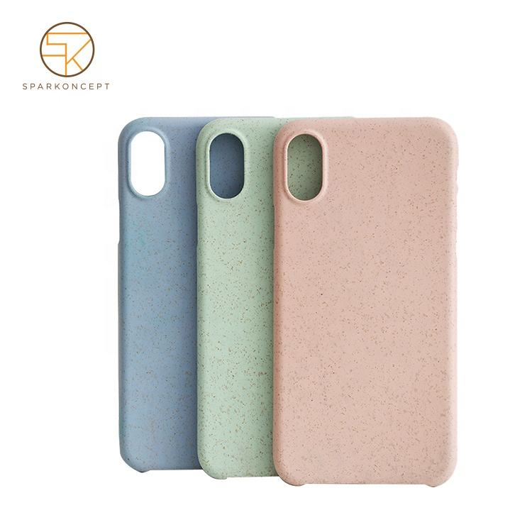 Gift Protective Compostable Case Pla Plastic Recycle Eco-friendly Phone Cover