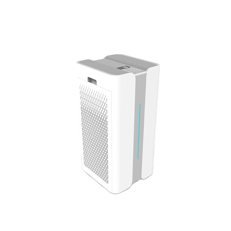 Electrostatic air purifier fresh air purifier with UVC to disinfect