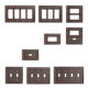 1 gang America outlets electrical led wall switch cover plate