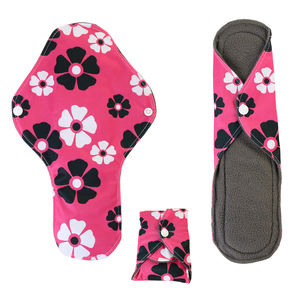 Fresh wholesaling in the field of washable sanitary pads, with washable and reusable sanitary pads