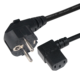 European standard EU male power cable schuko plug to IEC C13 ends Vde compliance