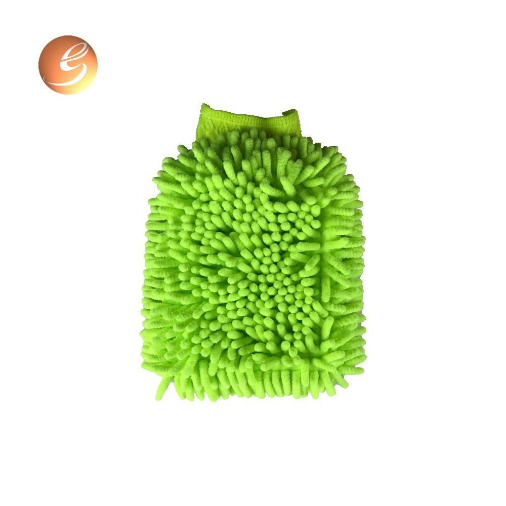Factory direct sale dry and wet multi-purpose use waterproof dusting remove chenille super mitt