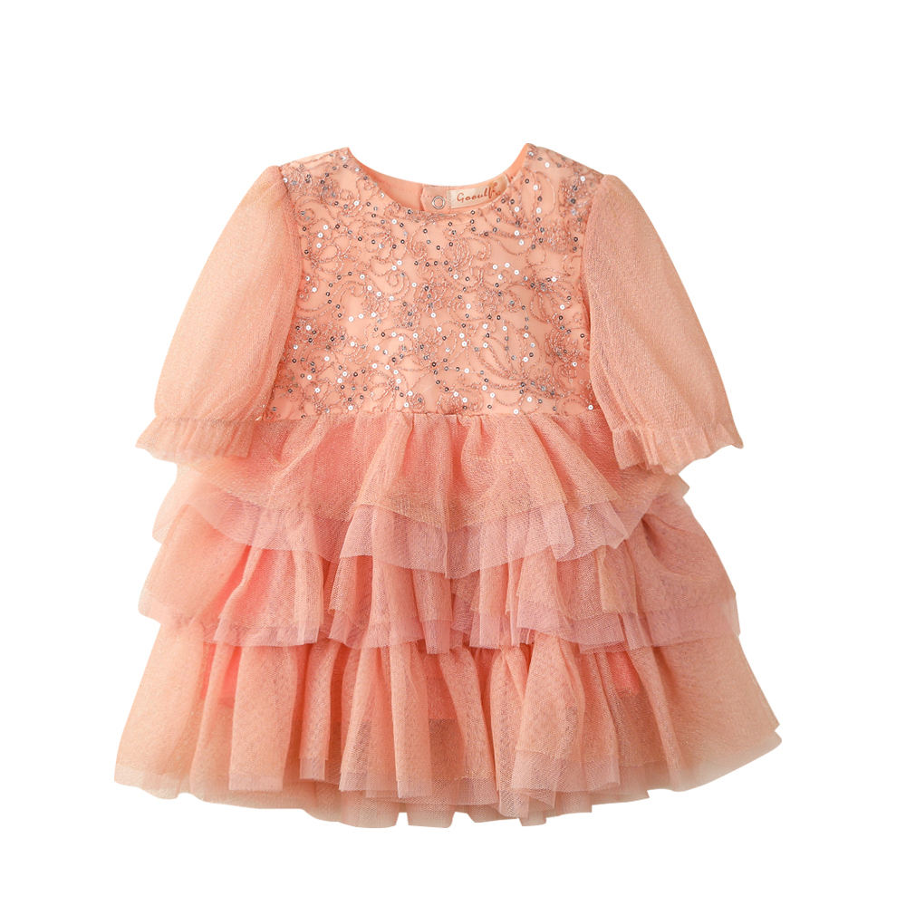 Factory Price 2021 Latest Style Children Baby Girl Casual Wedding Birthday Party Princess Dresses For Kids