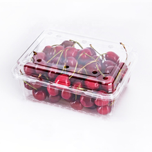 Disposable clear plastic fruit packaging box fruit package containers PET fruit vegetable plastic box